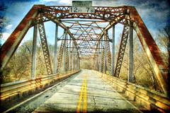 Calhoun Creek Bridge HDR with Texture