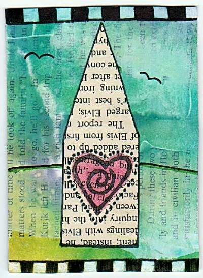 House of Love Deco Book Page