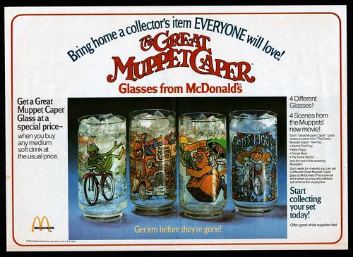 Great Muppet Caper glasses