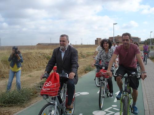 Carril Bici a la Universidad Pablo Olavide.