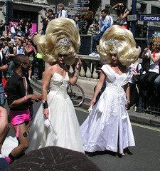 My, what big hair you have, London Pride 2008.