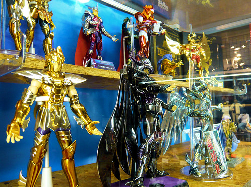 Saint Seiya figures