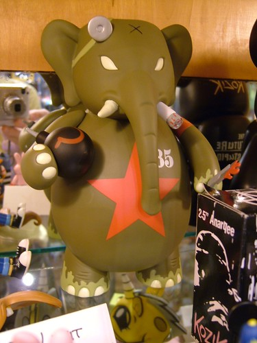 dr. bomb red army ver. frank kozik