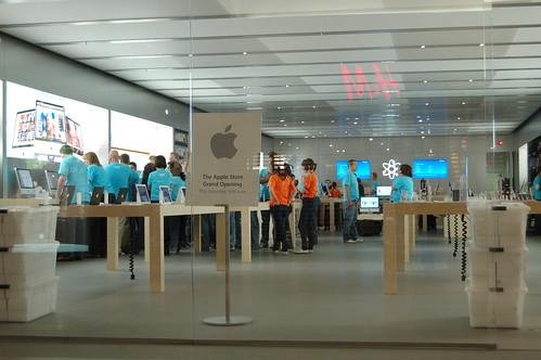 """Grand Opening"" Apple Store Calgary (Market Mall)"