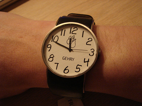 hand watch by you.