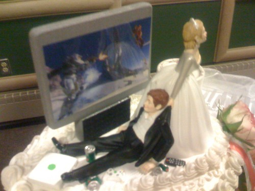 Wedding Cake Topper by EDubya.