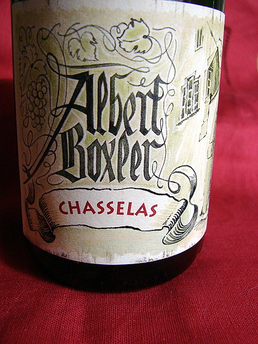 2005 Albert Boxler Chasselas