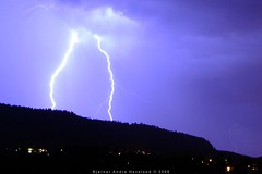 Photo of lightning.