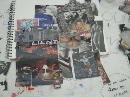 collage work in process