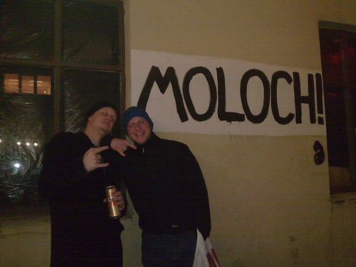 Me and Holger @ Moloch