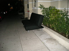 The ever-elusive night couch