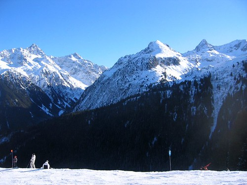 Les 7 Laux in the French Alps.