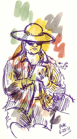 2nd st sketching janice