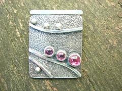 Garnet Pathways pendant