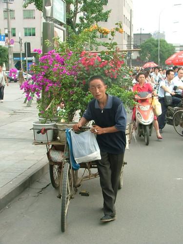 Flower Bike Man