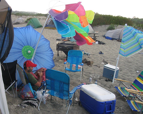 20070802-05 - Assateague Island beach camping - storm - after the storm - Shehab & the aftermath - (by Christian) - 1121482588_5bef5c35e6_b