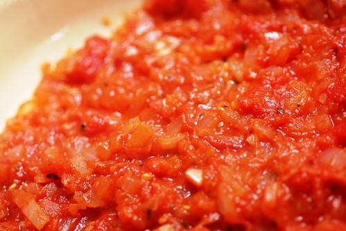 Homemade sauce