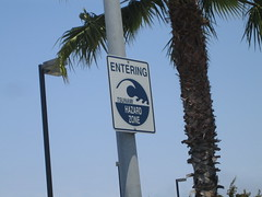 Sign on the way to Coronado