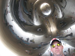 Jeff under the Bean