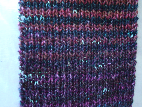 WIP - Noro striped scarf