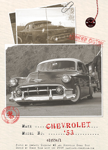 '53 Chevy Poster