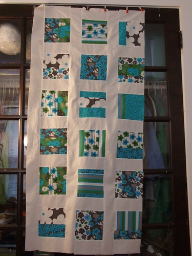 oh fransson quilt #1 (the halfway mark)