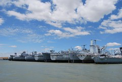 Suisun Bay National Defense Reserve Fleet