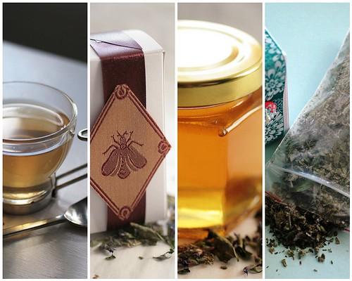 Tea mosaic