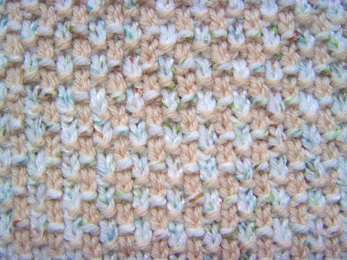 Slip Stitch Weave 2 Color Variation by Spunknit