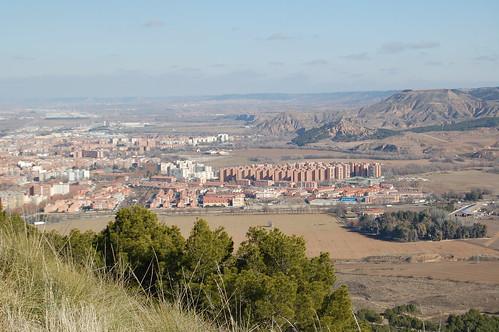 Nueva Alcalá desde el cerro del viso (II)