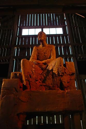 Skulptur av Hanneke Beaumont vid Pilane 2