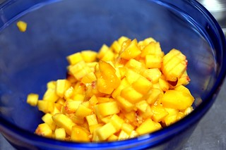 finely chopped fruit