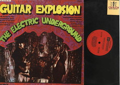 Guitar Explosion: The Electric Underground - Psych Vinyl LP