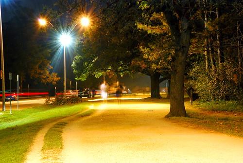Evening Jog - Memorial Park