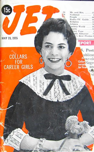 Collars for Career Girls - Jet Magazine, May 19, 1955 by vieilles_annonces.