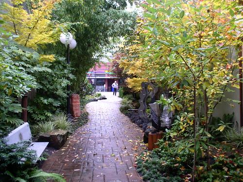 Walkway in the Pearl