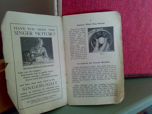 singer sewing vintage ad