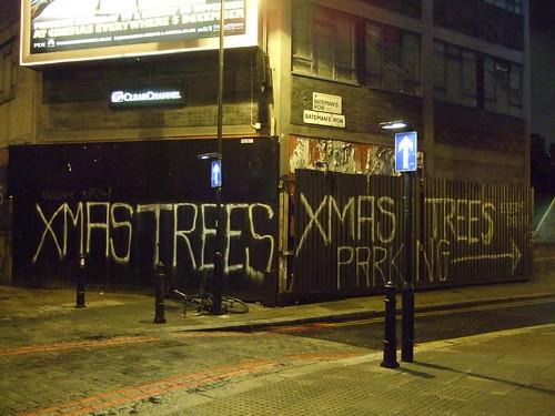 Xmas trees parking
