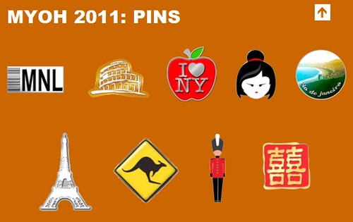 Make Your Own Havaianas 2011 Pins