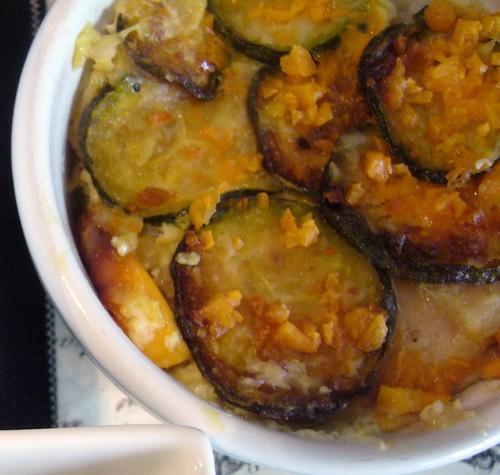 Lasagne alle zucchie e mimolette