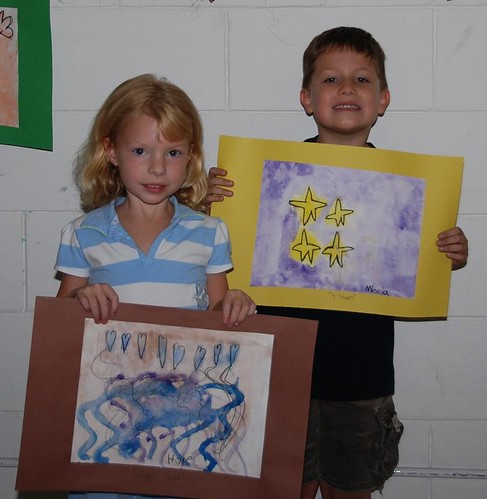 Home & Miscia showing of their crealde art work