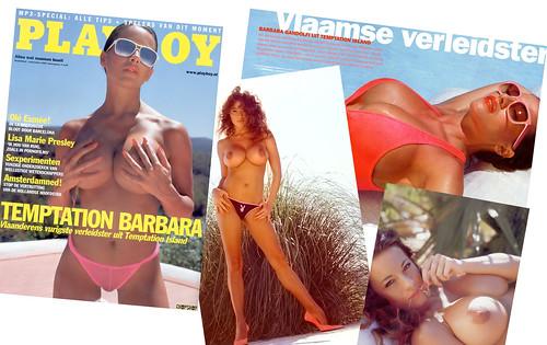 Barbara Gandolfi naakt in Playboy