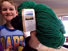 More bday yarn - Harris DK