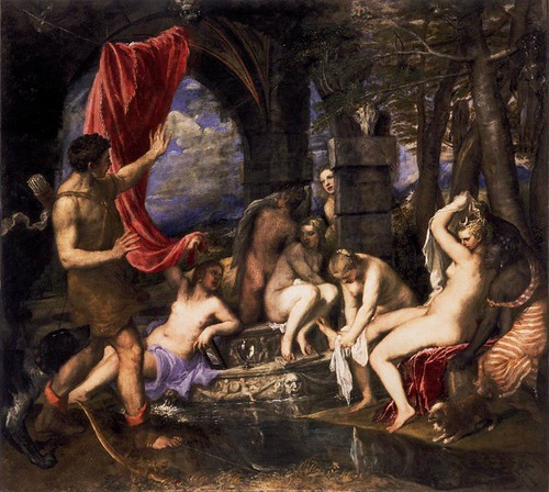 Diana and Actaeon - Titian