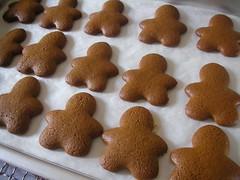 Nekkid gingerbread men.