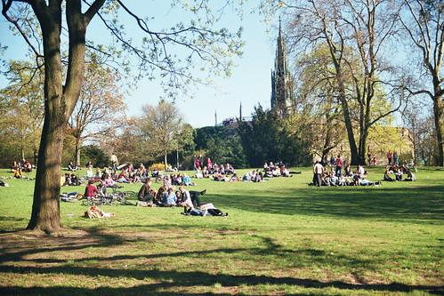 Viktoria Park un samedi ensoleillé