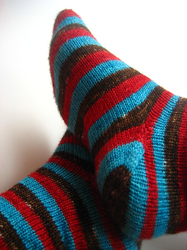 Stripey Meteor Socks