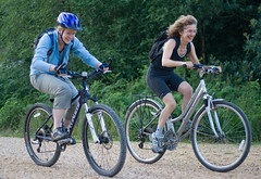 Cycling at Alice Holt Forest