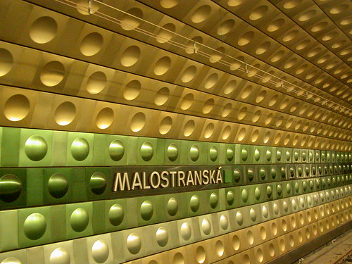 Malostranská Metro stop