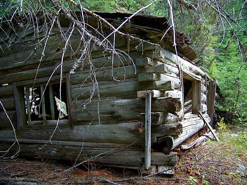 Iron Daisy Mine cabin